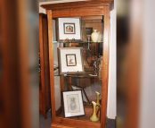 Victorian-Ash-Sliding-Door-Display-Cabinet